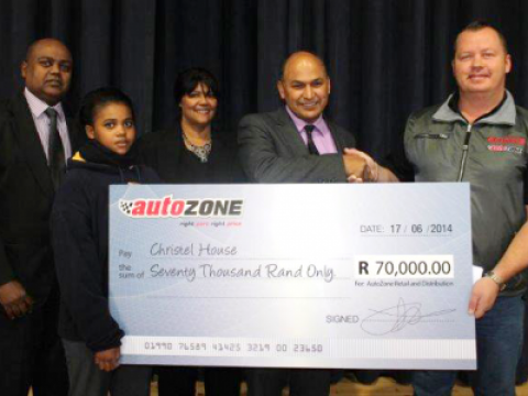 AutoZone lends it supports to  Christel House